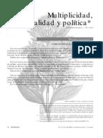 Lazzarato - Multiplicidad, totalidad y política