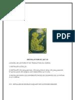 INSTALLATION DE JUZ 30.doc
