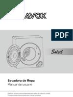 Manual de Usuario Secarropa Soleil GDZ5.0-61
