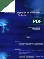 Afecciones Originadas en El Periodo Perinatal