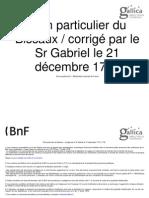 Plan Particulier Du Bissau 1718
