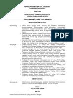Permen_no.55-2010 Tentang Tata Naskah Dinas Pemda