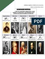 Almanaque Musical. José Manuel Alonso Cabezas