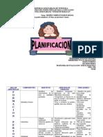 Planificacion. Trimestral o Semanal