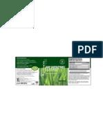 Kenzen Jade GreenZymes Capsule - US (Supplement Facts / Datos del suplemento)