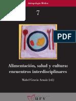 Alimentación salud y cultura_encuentros interdisciplinares