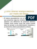 Efecto Piezoeléctrico