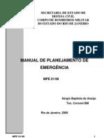 Manual de Planejamento contra Emergências