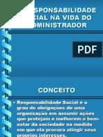 A Responsabilidade Social Na Vida Do Administrador