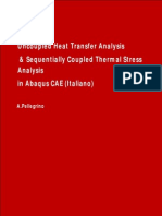 Uncoupled Heat Transfer Analysis in Abaqus