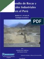 BOLETIN Nº 019- COMPENDIO DE ROCAS Y MATERIALES INDUSTRIALES EN EL PERU