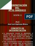 Interpretacion Del Acto Juridico