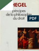 HEGEL Principes de La Philosophie Du Droit Jean Hyppolite Paris 1940 1989