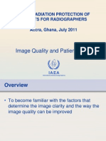 Lecture 05 Image Quality and Patient Dose