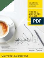 Montreal Design portes ouvertes 2013 Programme complet