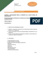 Consulta Ginecologica y Desarrollo
