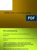 Hidden Traps in Decision Making MARCH 2003