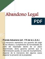 Abandono Legal y Pct