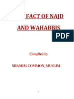 The Facts of Najd & Wahabbism