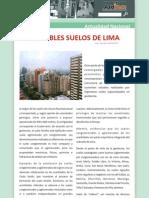 Los Nobles Suelos de Lima