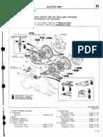 Clutch Adjustment Mazda BG 323 1990-1994