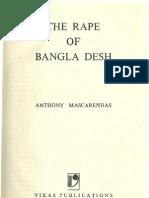 The Rape of Bangladesh - Anthony Mascarenhas