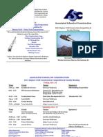 2011 asc competition program