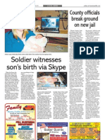 Soldier witnesses son's birth via Skype