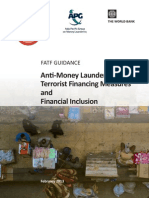 AML CFT Measures and Financial Inclusion 2013