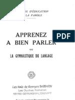 Barbarin Georges - Apprenez a Bien Parler