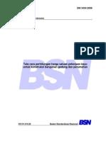 SNI-3434-2008 - Analisa Pekerjaan Kayu
