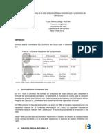 Informe de La Visita a Quimica Basica Colombiana S
