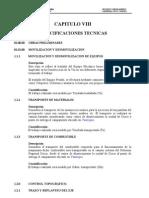 Capitulo VIII Esp.tecn Cusco Paruro 2006