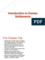 Introduction to Human Settlements