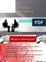 Grievance Management