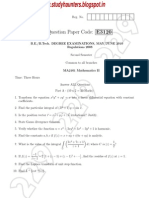 engineering mathematics II May June 2010 Question Paper Studyhaunters.pdf