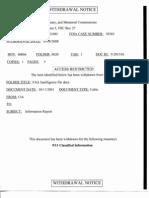 T5 B62 T Eldridge Files- FAA Intelligence Fdr- Withdrawal Notice- Finland Denied VISA to Ghamdi Email Re Rasmi Al Shannaq
