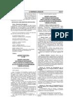 Decreto Legislativo Nº 1105