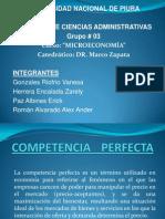 Diapositivas de Competencia Perfecta