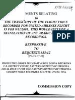 T7 B17 Flight 93 CVR Transcript Fdr- Cockpit Voice Redorder- UA 93394