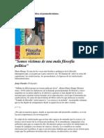 Mario Bunge y la crítica al posmodernismo