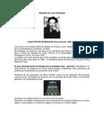 Biografía de Louis de Broglie