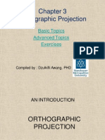 Ortographic - Auxiliary View
