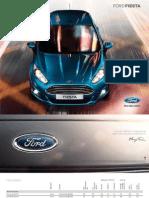 Der Neue Ford Fiesta Broschuere