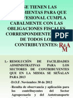 Reforma Fiscal 2013