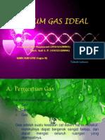 Hukum Gas Ideal
