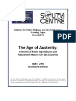 Age of Austerity 24 March