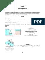 Teoría resumida(Centrales Hidráulicas)