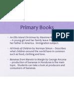 PrimaryBooks EDEL453 WIKI