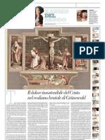 IL MUSEO DEL MONDO 19 - Crocifissione di Mathis Grünewald (1512-1516) - La Repubblica - 05.05.2013